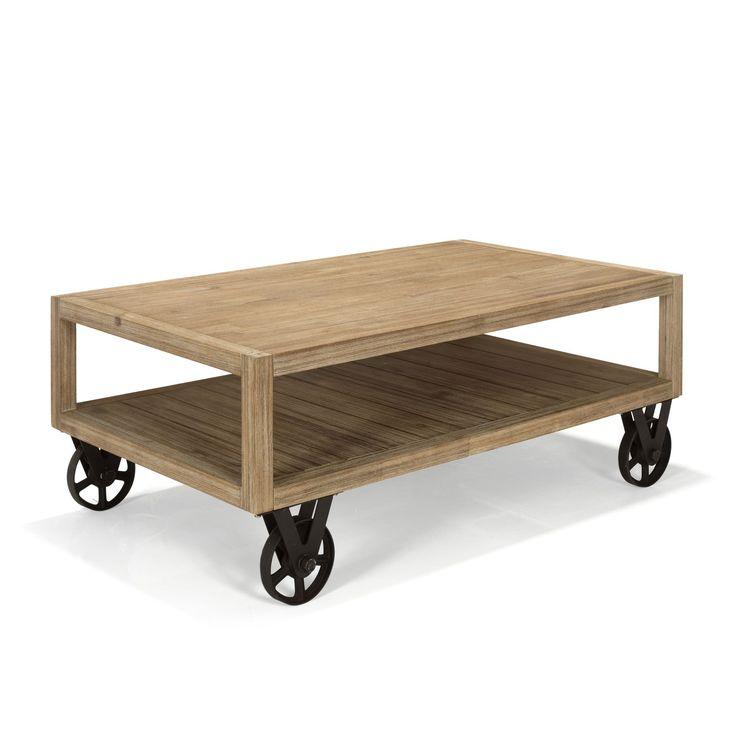 Table basse style industriel - Cocto - Tables basses-Tables basses, Bouts de canapé-Salon, Salle à manger-Par pièce - Décoration intérieur - Alinea