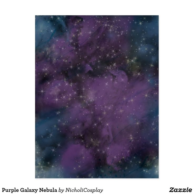 Purple Galaxy Nebula #zazzle #product #invitations #design #sellingon #shirts #baby #art #stuffsoldon #ideas #stores #poster #tshirt #fabric #gifts #stamps #office #allthings #clothing #wrappingpaper #pillow #mug #leggings #beautiful #birthday #hair #shop #sticker #phonecase #notebook #tote #fun #phonecovers #happy #nebula #outer #space #astronomy #science #gases #dust #stars #exploration #nebulae
