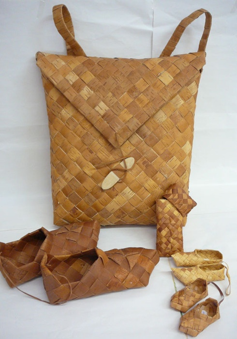 Finnish Birchbark items