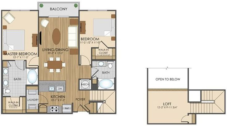 luxury apartment floor plans in gaithersburg md floor plans pinterest. Black Bedroom Furniture Sets. Home Design Ideas