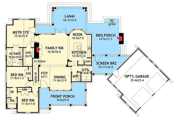 Plan 16807wg stone cottage with flexible garage bonus for Flexible house plans