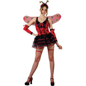 Women Sexy/Lovely Ladybug Fancy Dress Costume Size: XS | eBay