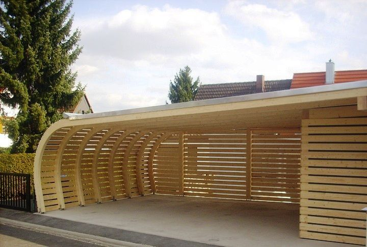 Deutscher Carport Passend Fur Ihre Terrasse In Einem Carport Kann Ein Schuppen Carport Designs Carport House With Porch
