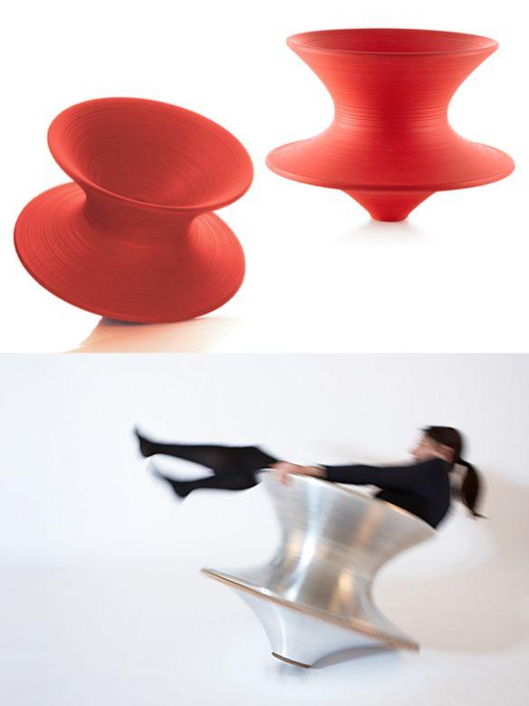 Spun Chair by Thomas Heatherwick for Magis