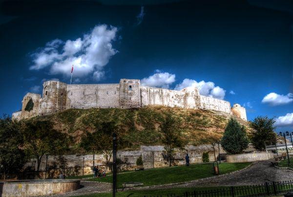 Gaziantep castle in the south east of Turkey #castle #turkey