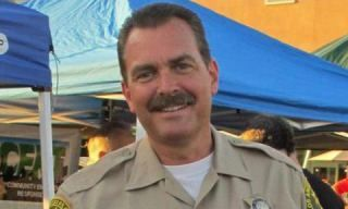 LA County Sheriff Department's Sergeant Burton Brink (Picture: Twitter)
