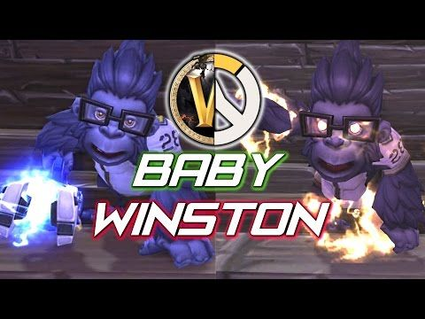 Baby Winston Pet in World of Warcraft - Overwatch Preorder Reward - Best sound on Amazon: http://www.amazon.com/dp/B015MQEF2K -  http://gaming.tronnixx.com/uncategorized/baby-winston-pet-in-world-of-warcraft-overwatch-preorder-reward/