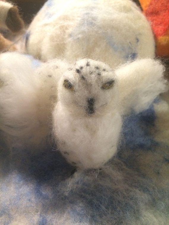 Gufo bianco delle nevi o Edvige di Harry Potter di CreazioniMonica