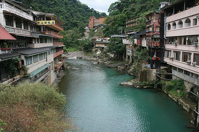 烏来 橋からの風景