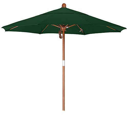 California Umbrella 7.5 Round Hardwood Pole Fiberglass Rib Market Umbrella Stainless Steel Hardware Pulley Lift Sunbrella Forest Green For Sale https://homepatiogarden.net/california-umbrella-7-5-round-hardwood-pole-fiberglass-rib-market-umbrella-stainless-steel-hardware-pulley-lift-sunbrella-forest-green-for-sale/