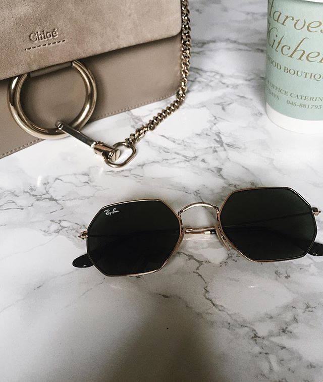 Obsessed with these hexagonal raybans