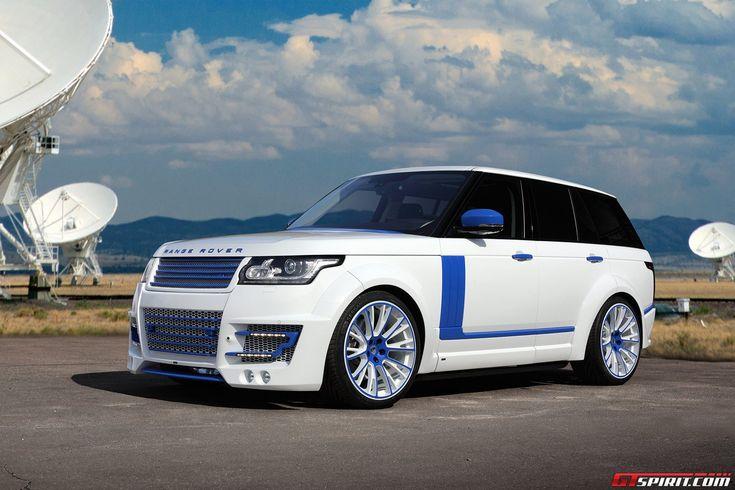 Lumma Design Range Rover Vogue CLR-R