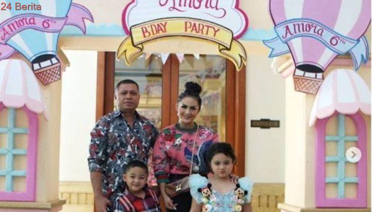 Mewahnya Pesta Ulang Tahun Putri Krisdayanti dan Raul Lemos