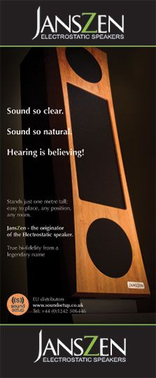 JansZen pull-up banner for SoundSetup