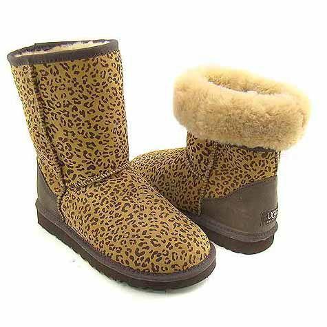 UGG Classic Short Boots 5825 Leopard Cheap