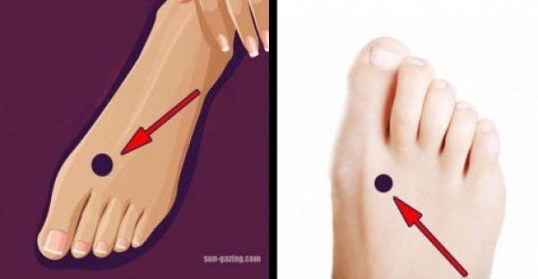 Εάν πιέσετε Αυτό το σημείο στο Πόδι σας πριν τον Ύπνο, θα συμβεί ΑΥΤΟ στο Σώμα!!!