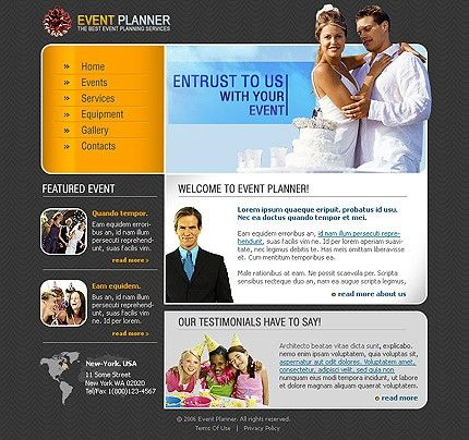 Entertainment Company SWiSH Templates by Solus