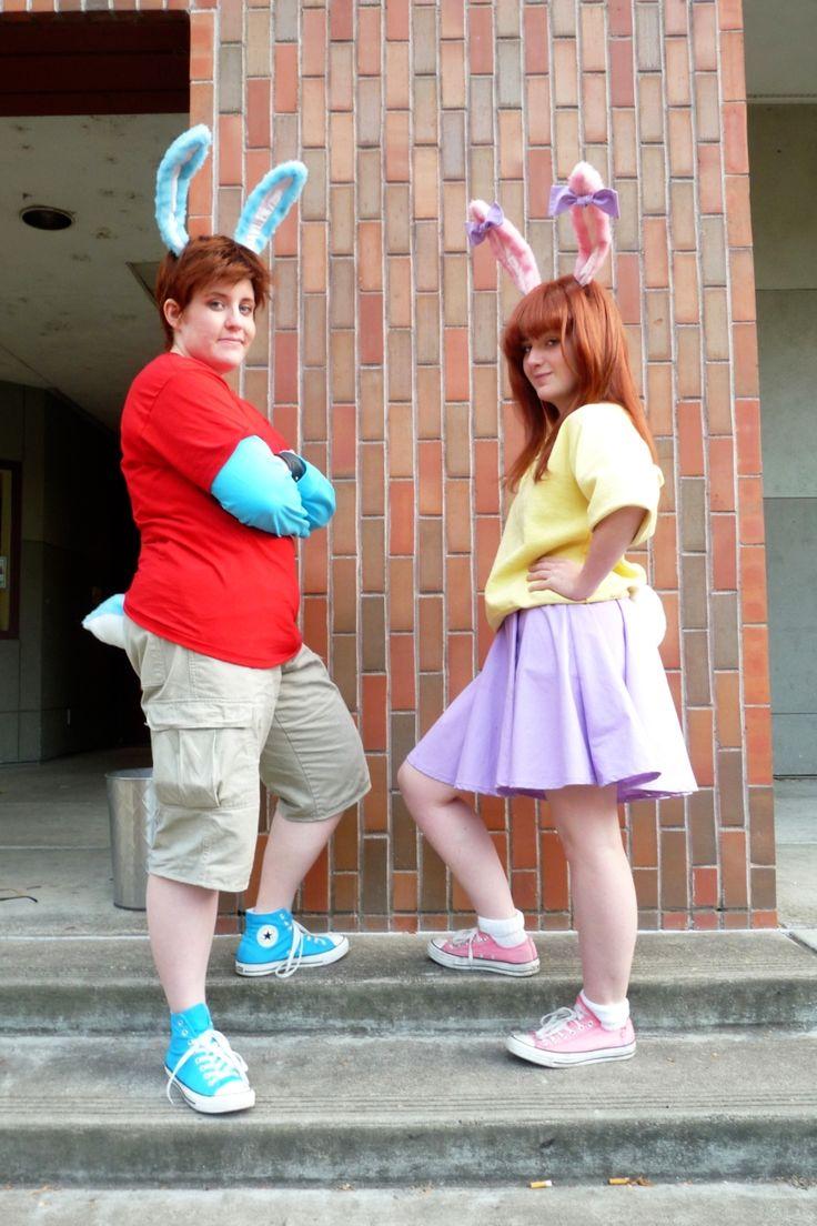 Babs bunny costume