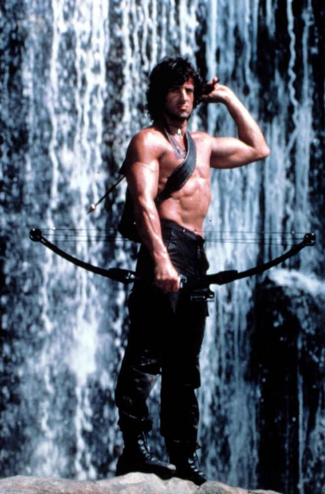 RAMBO: FIRST BLOOD PART II, Sylvester Stallone, 1985