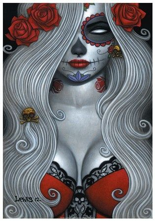 1000+ images about Tattoos on Pinterest | Day of the dead ...
