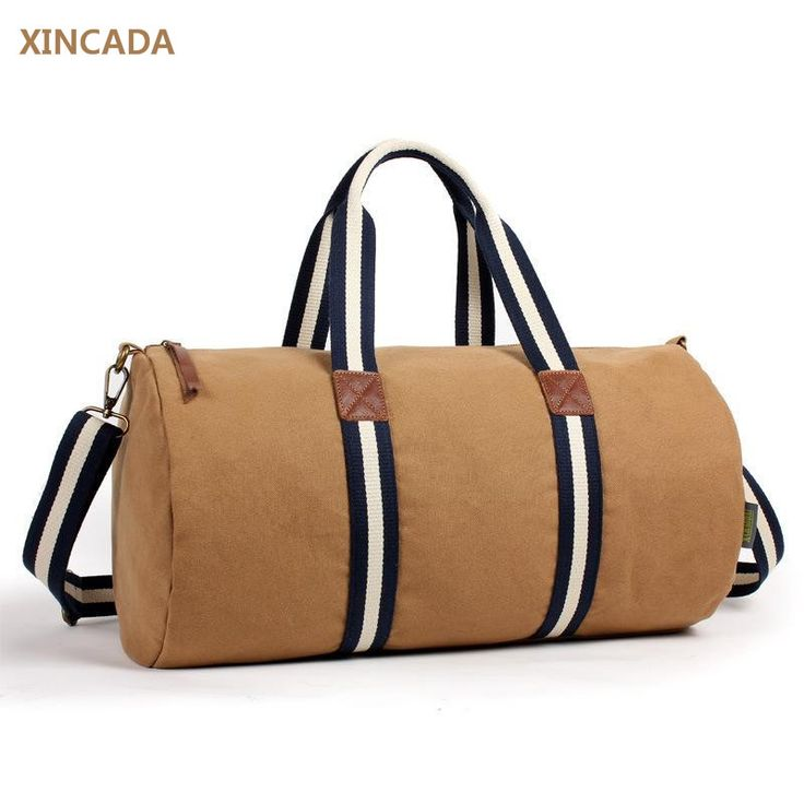 XINCADA Europe stylish unisex bags canvas totes casual canvas travel bags for men bucket shaped canvas bags on sale