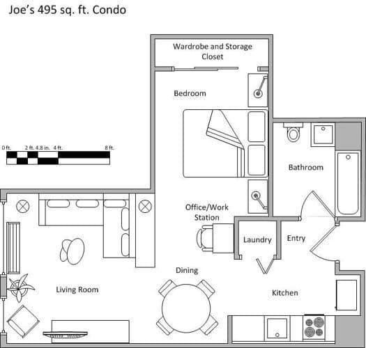 Small Apartment Kitchen Floor Plan 43 best floor plans images on pinterest   floor plans, apartment