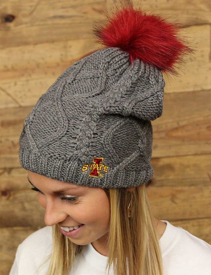 Iowa State Cyclones.. check out this go-to beanie for those chilly games GO ISU