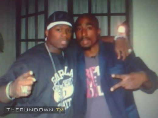 Tupac Shakur and 50 Cent