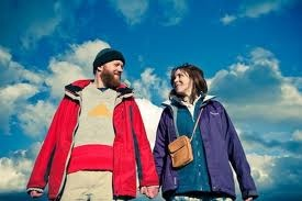 Alice Lowe and Steve Oram play sightseers Tina and Chris