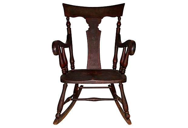 1000 ideas about victorian rocking chairs on pinterest for Chaise bercante antique