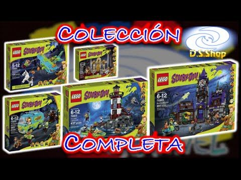 LEGO Scooby Doo Mystery Plane Adventures Set 75901 Review en Español - YouTube