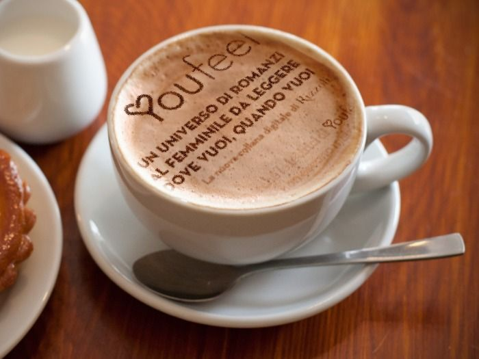 Ci vuole un cappuccino per iniziare bene la giornata #youfeel