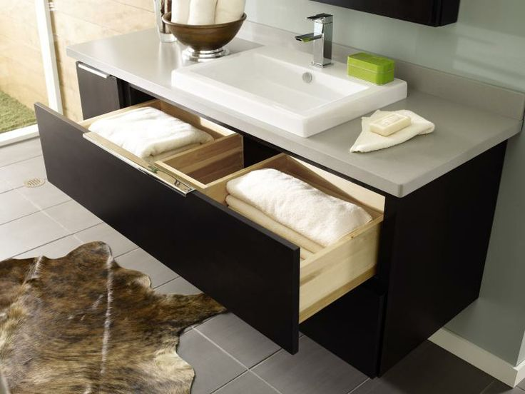 90 best bathroom inspiration images on pinterest - Bathroom storage cabinet with drawers ...