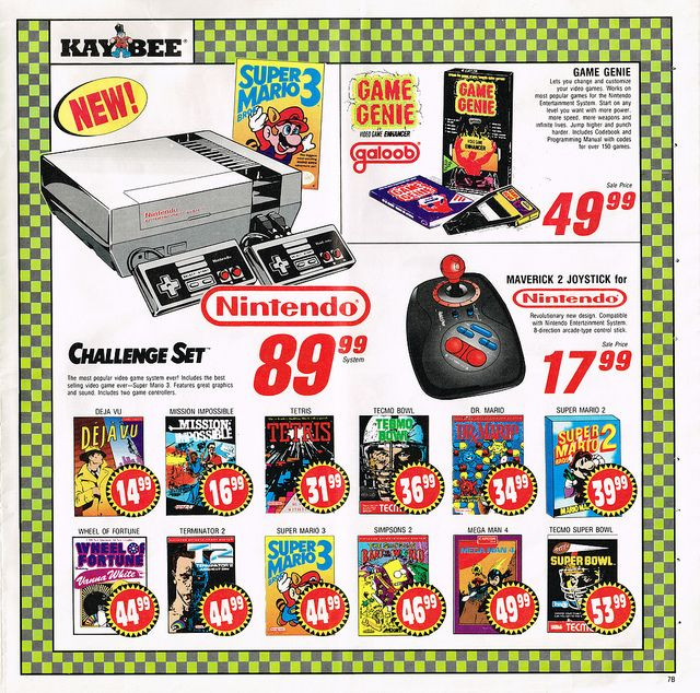 UUUH... SUPER RETRO!!! YO AÚN TENGO EL MIO! NES still a bargain at that price today!