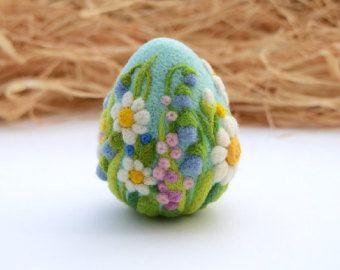 Gefilzte Eiern Ostern Dekorationen Ostergeschenk von LifeandWool