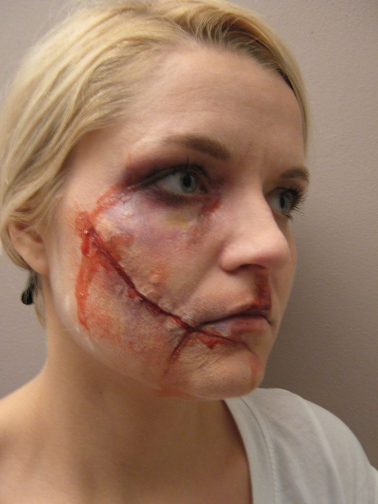 Special Effects   Edge of Moons   Scar makeup, Makeup ...