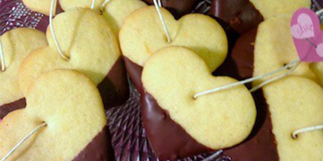 Biscotti di San Valentino…da inzuppare