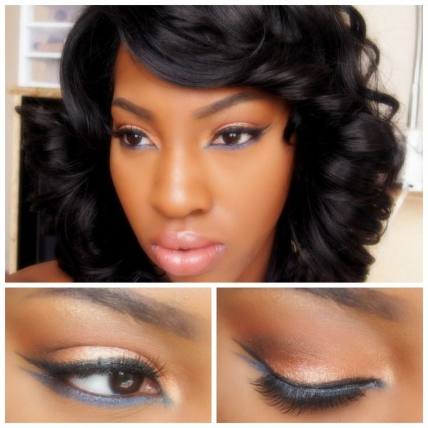 Flawless Makeup Idea For Black Women | Prom Makeup | Pinterest | Eyes Black Women And Hair