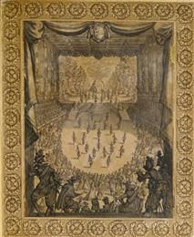 Callot, Jacques (1592-1635) (attributed to). Ballet of the Provinces Of France. From the Print Room at The Vyne. Photo: Derrick E. Witty The Vyne, Hampshire, Great Britain
