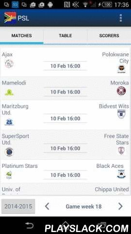 Premier Soccer League Football  Android App - playslack.com , This application offers you the best statistics you will ever find in a smartphone application or anywhere else. With its astounding user friendly interface, real-time live broadcast, live score, fixtures, standings, historical data and unique push notification alerts with unlimited team selections, it delivers you the best sports experience ever for your Android, even for the most demanding fans.It gives you exactly what you…