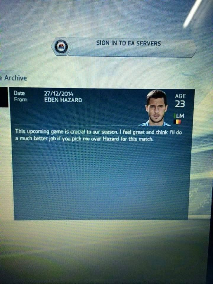 Eden Hazard & his brother Thorgan Hazard clearly don't get along..