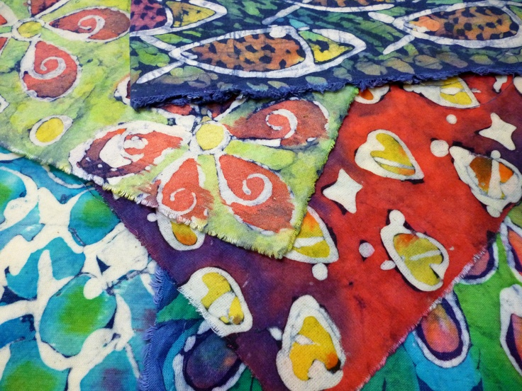 Fibre artwork created during a 2012 batik residency with Ewa Sniatycka.