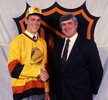 Trevor Linden on draft day | Vancouver Canucks | NHL | Hockey