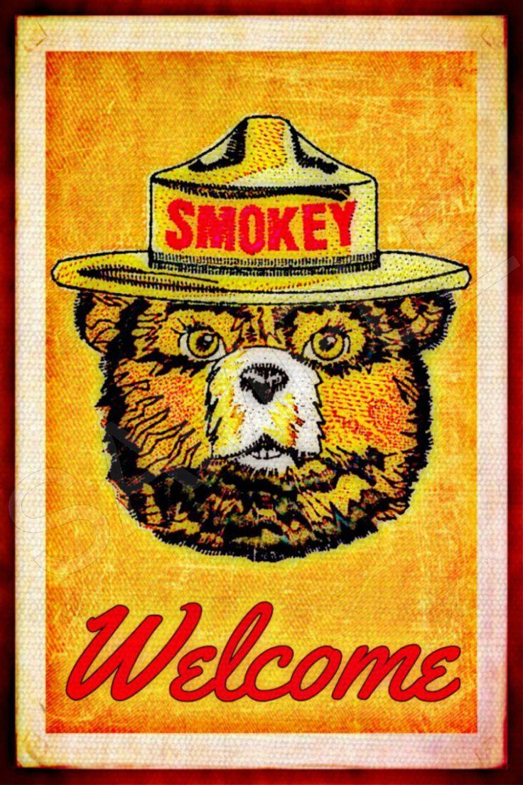 182 Best Smokey Bear Images On Pinterest Smokey The