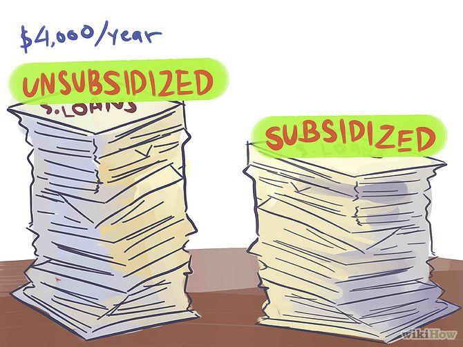 subsidized student loan
