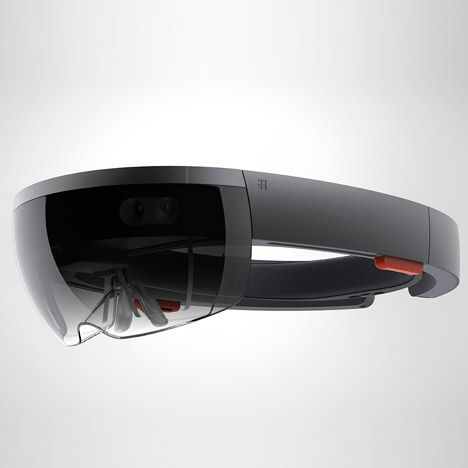 Microsoft HoloLens augmented reality headset for Windows 10 | Microsoft, Holographic computer ...