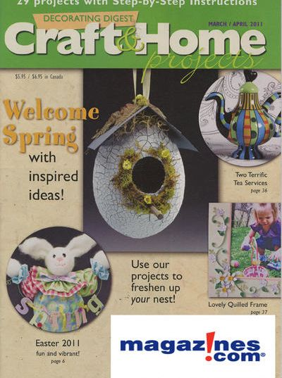 Decorating Digest Craft U0026 Home Projects Magazine
