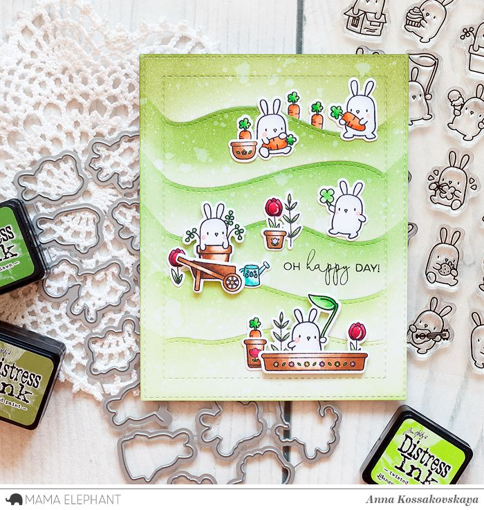 Mama Elephant Stamp Highlight: Little Bunny Agenda