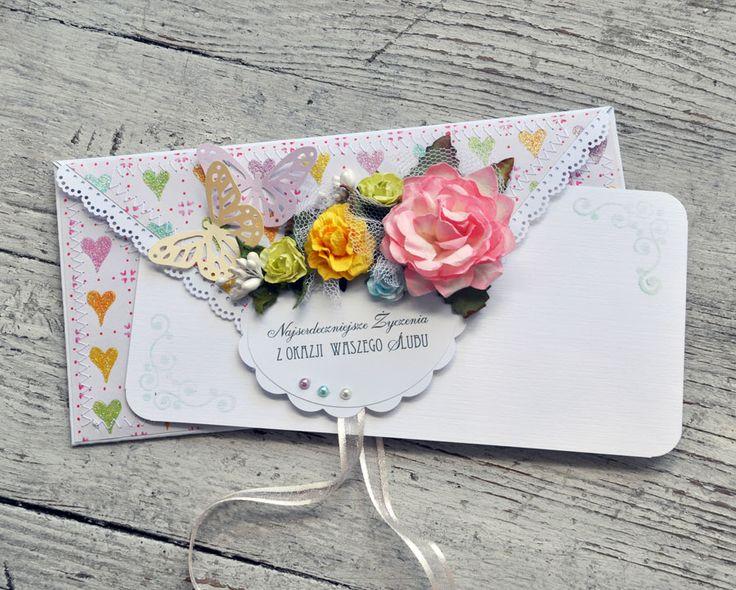 Uwielbiam kopertówki, mogłabym je kleić codziennie :)