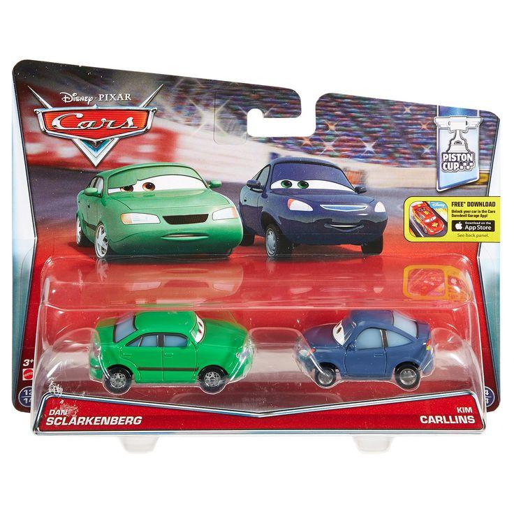 Check out the Disney•Pixar Cars Dan Sclarkenberg & Kim Carllins Die-Cast 2-Pack (DHL16) at the Mattel Shop website. Explore the world of Cars today!